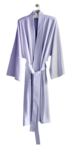 Kimberly 100% Cotton Bathrobe by Under the Canopy